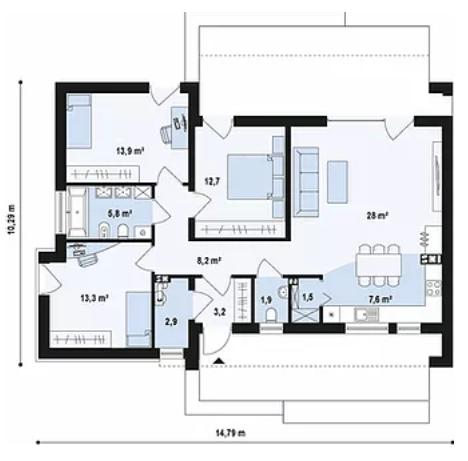 Ibiza-Plano Casa